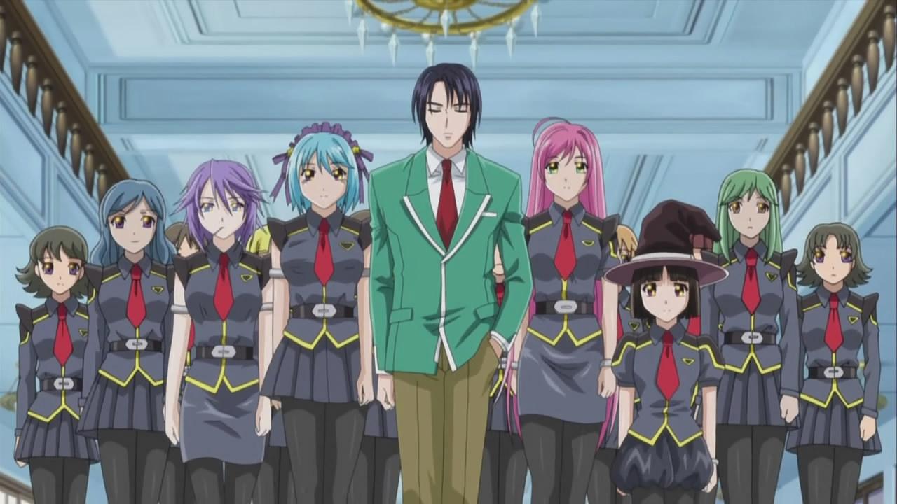 rosario vampire school uniform
